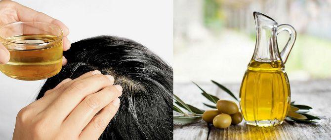 Оливковое масло для ухода за волосами