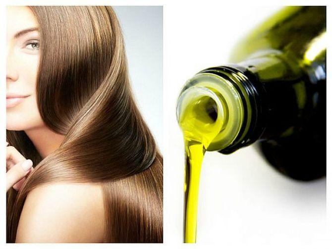 Оливковое масло  от ломкости волос