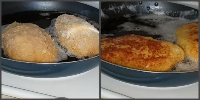 відбивні з курячого філе на сковороді рецепт