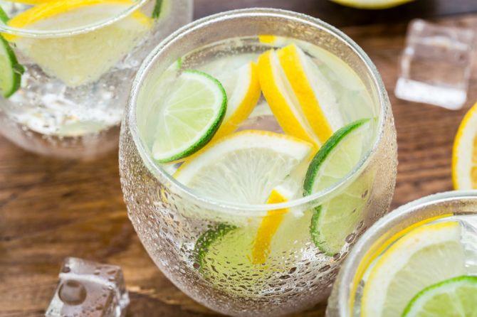 Сік лимону та лайму