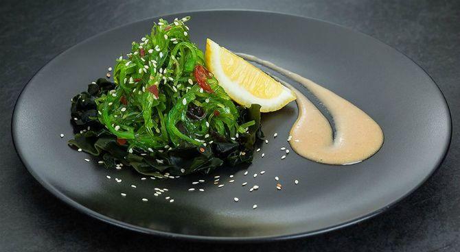 Салат з морською капустою та морквою по-корейськи