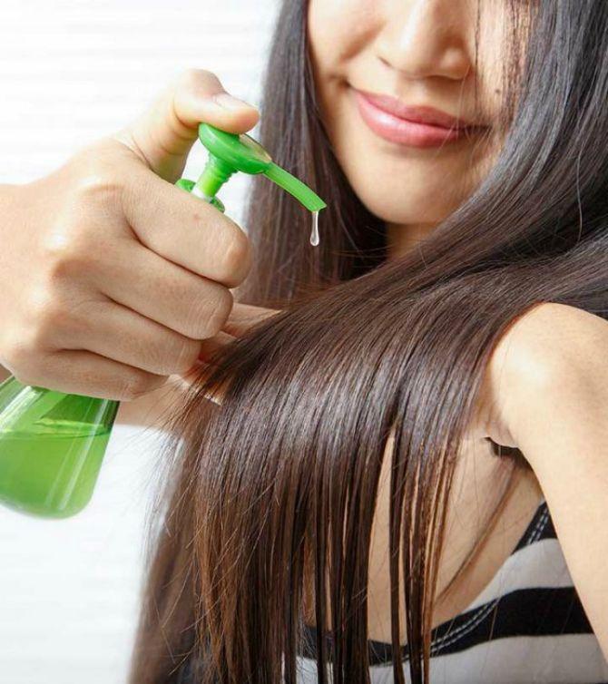 підживлювання волосся алое