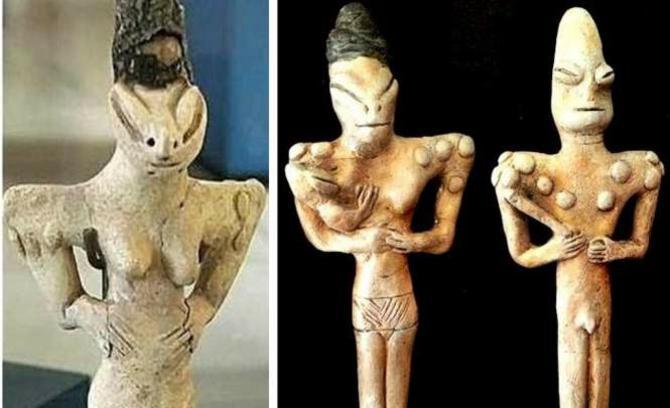 Статуетка людини-ящірки
