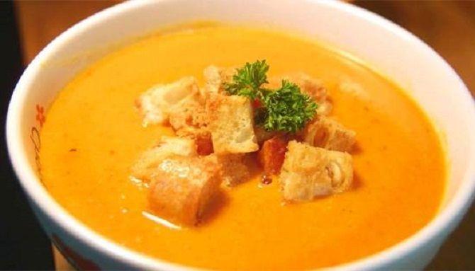 Морквяно-гарбузовий крем-суп