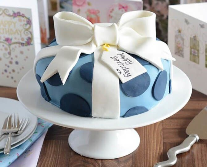 Торт з мастикою
