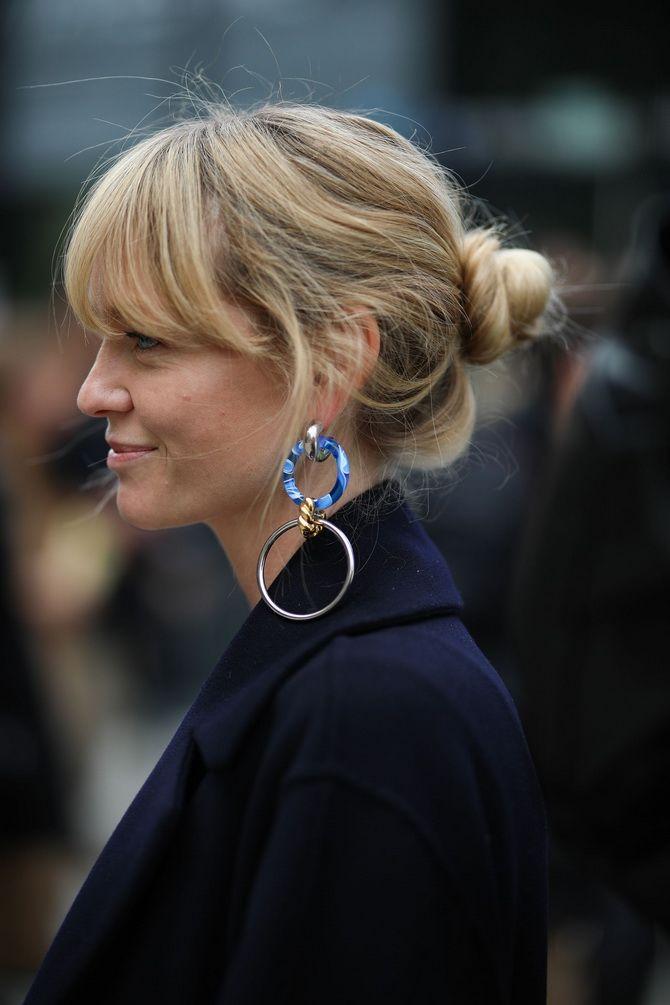 Ohrringe klingeln