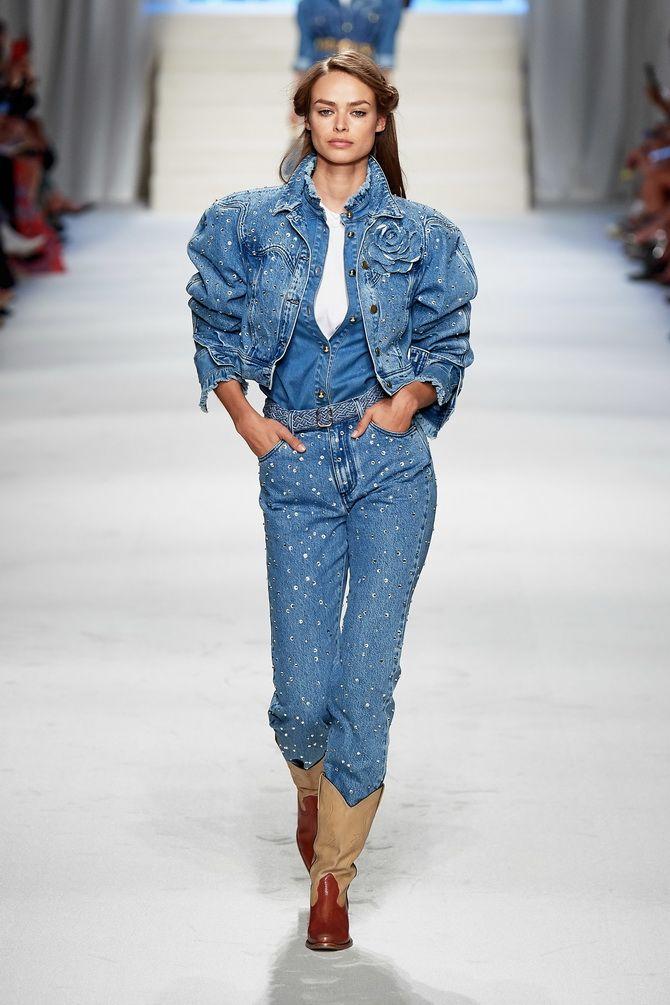 джинсові куртки оверсайз