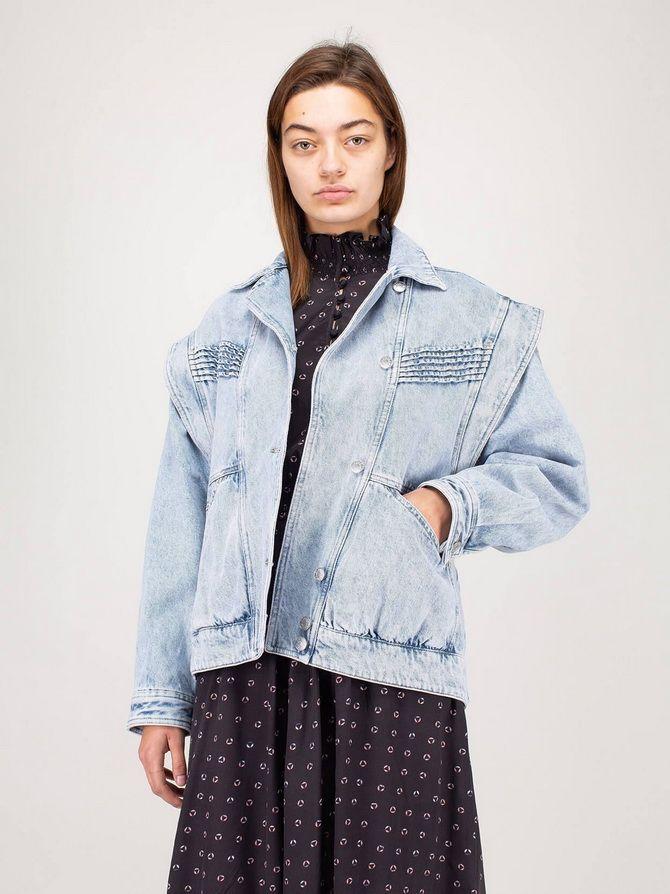 стильні фото джинсова куртка