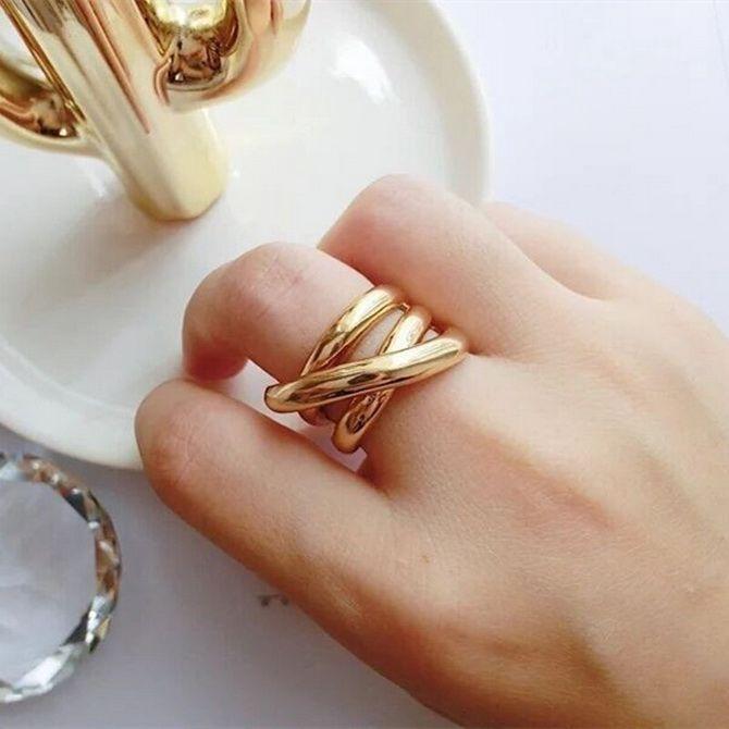 Объемные кольца