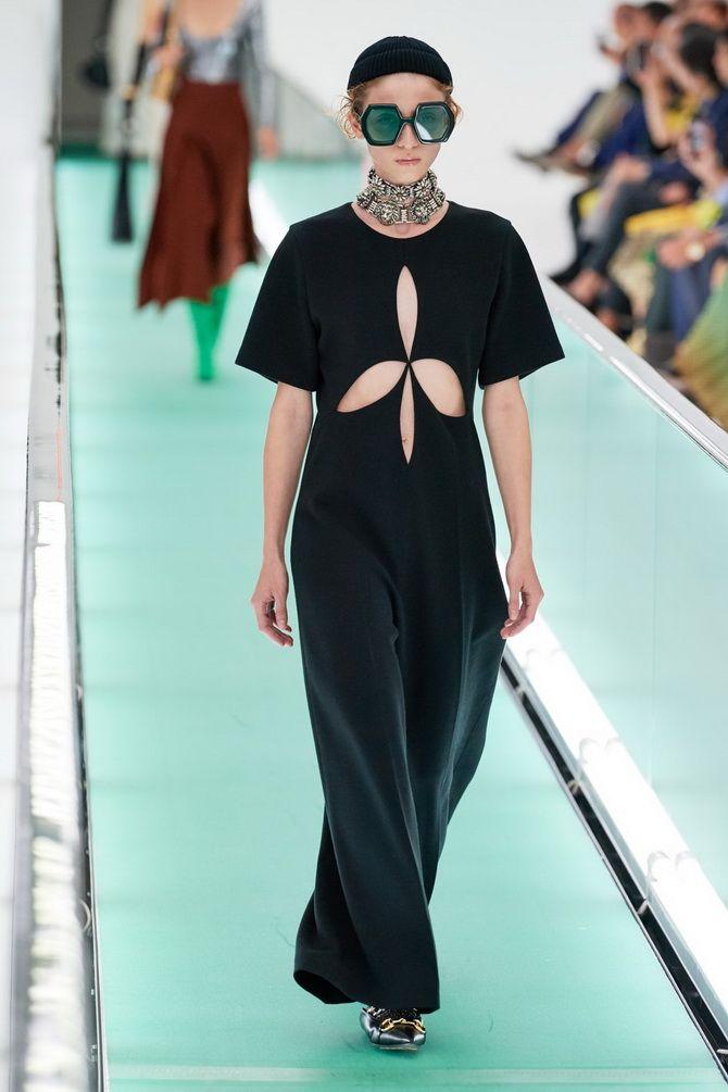 платья с вырезами от Gucci