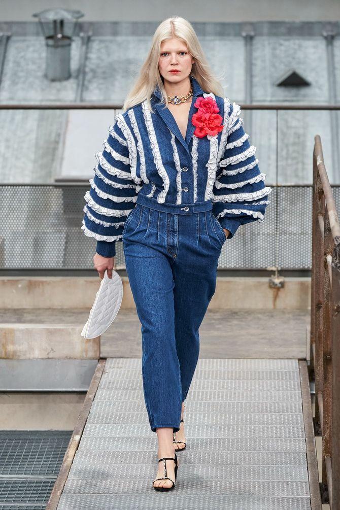 модная джинсовая куртка в 2020-2021