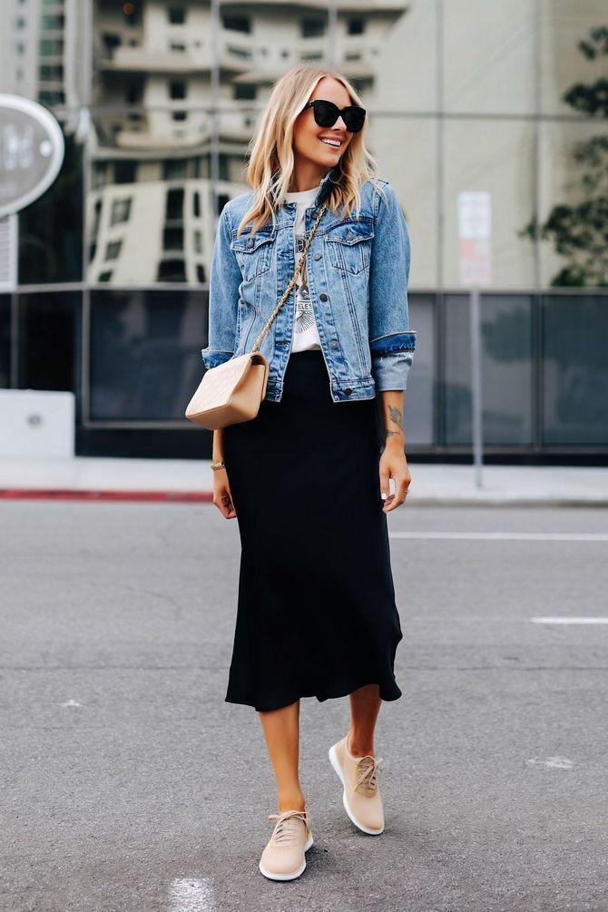 модная джинсовая куртка женская