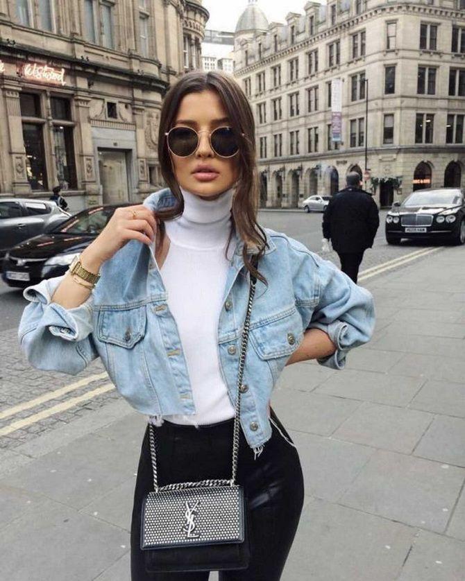 джинсовая куртка женская 2020