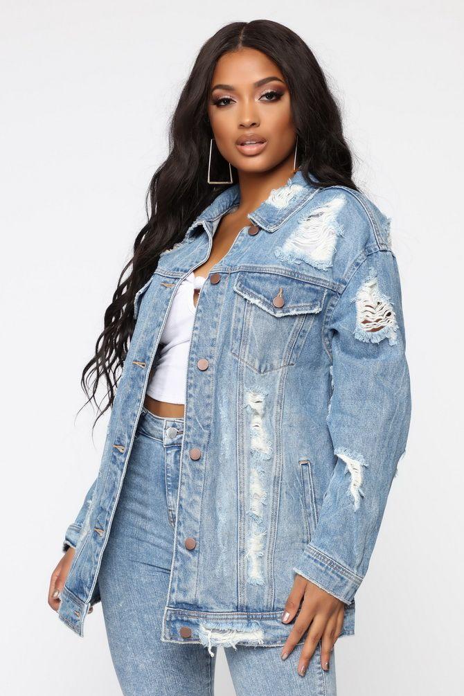модний джинсовий піджак 2020