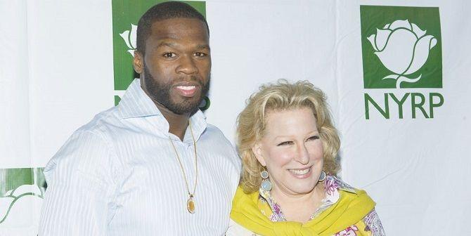 Бетт Мідлер і 50 Cent