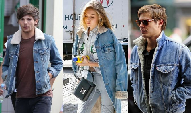 джинсовая куртка с мехом мужская