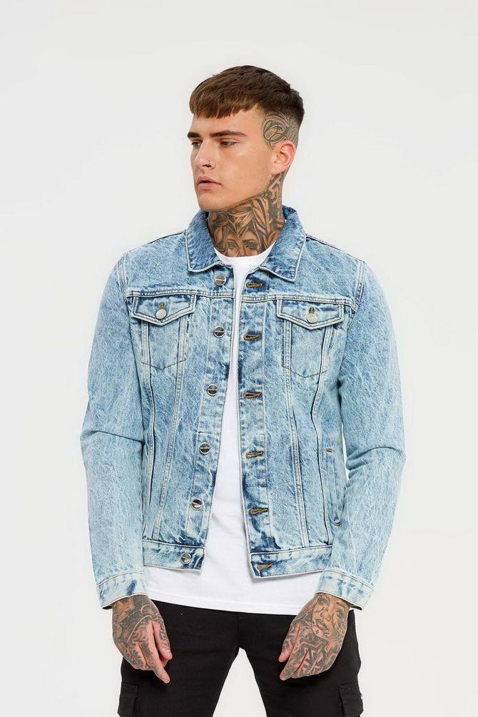джинсовые куртки мужские летние