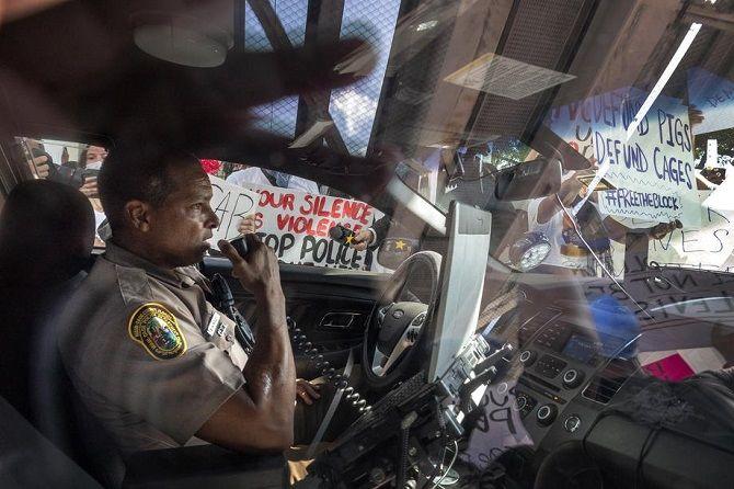 протесты Майами