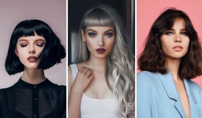 модные женские прически 2020