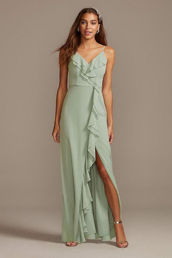 плаття з воланами
