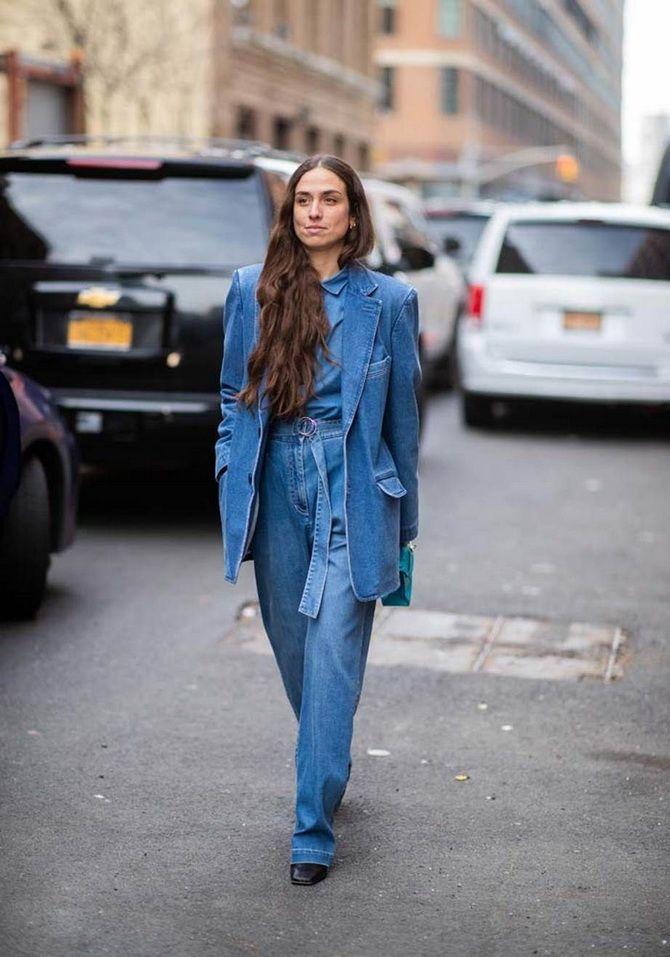 Подовжені моделі джинсових курток