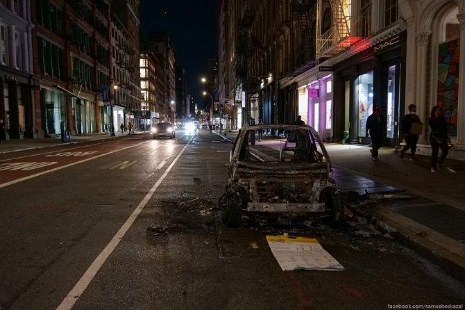 протести нью-йорк