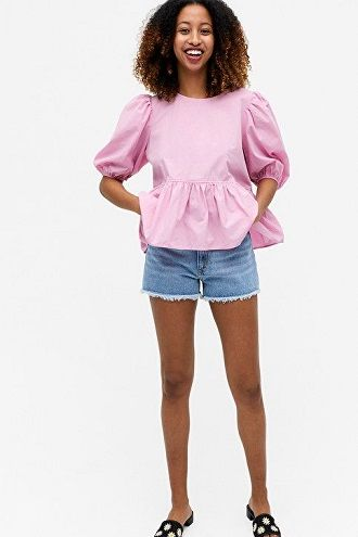 Denim shorts in 2020-2021: look stylish and trendy 43