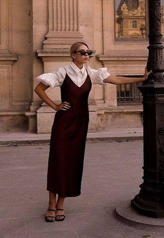 Универсальное платье в бельевом стиле: создаем ультрамодные образы на каждый день 49
