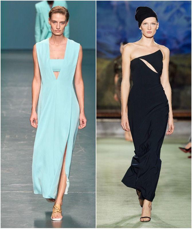 коллекции модных платьев 2020-2021