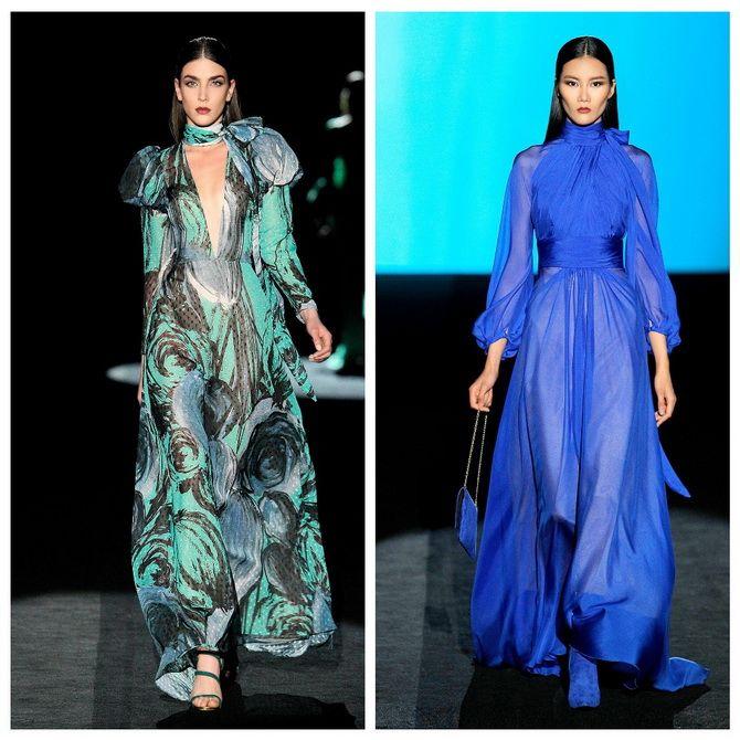 воздушные платья в пол