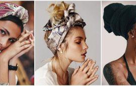Модний тренд літа 2020: зав'язуємо хустку на голові