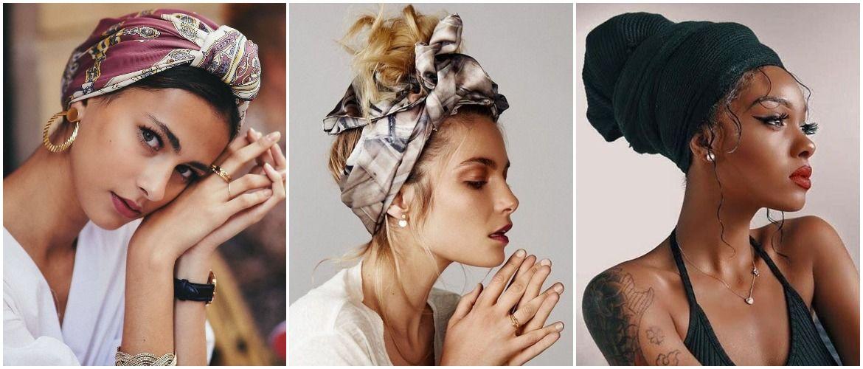 Модный тренд лета 2021: завязываем платок на голове