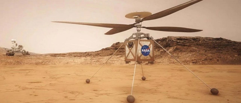 NASA отправит на Марс вертолет для изучения планеты с высоты птичьего полета