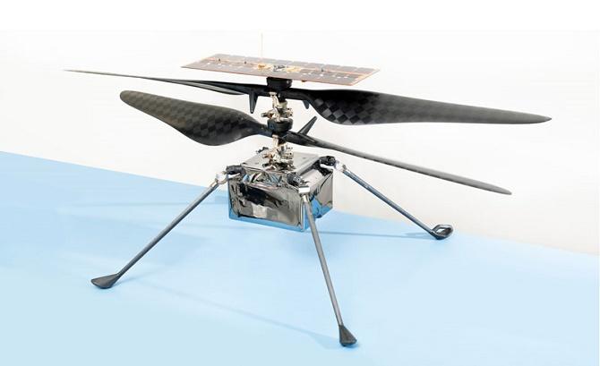 NASA отправит на Марс вертолет для изучения планеты с высоты птичьего полета 2