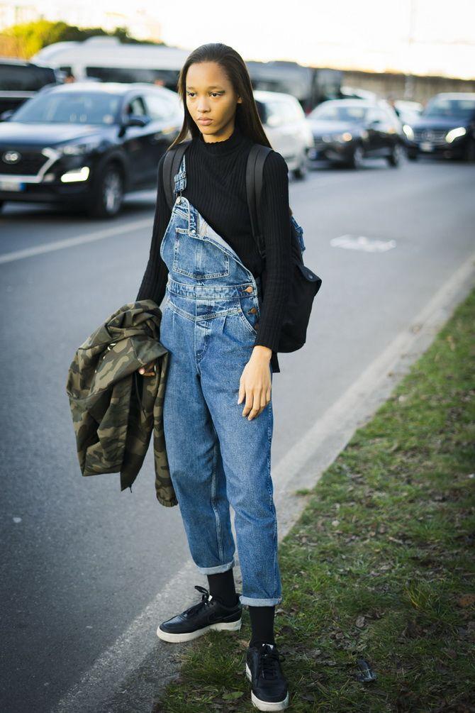 брюки комбинезон женские