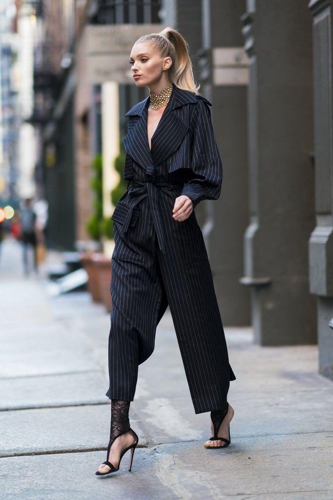 комбинезон-пиджак черный