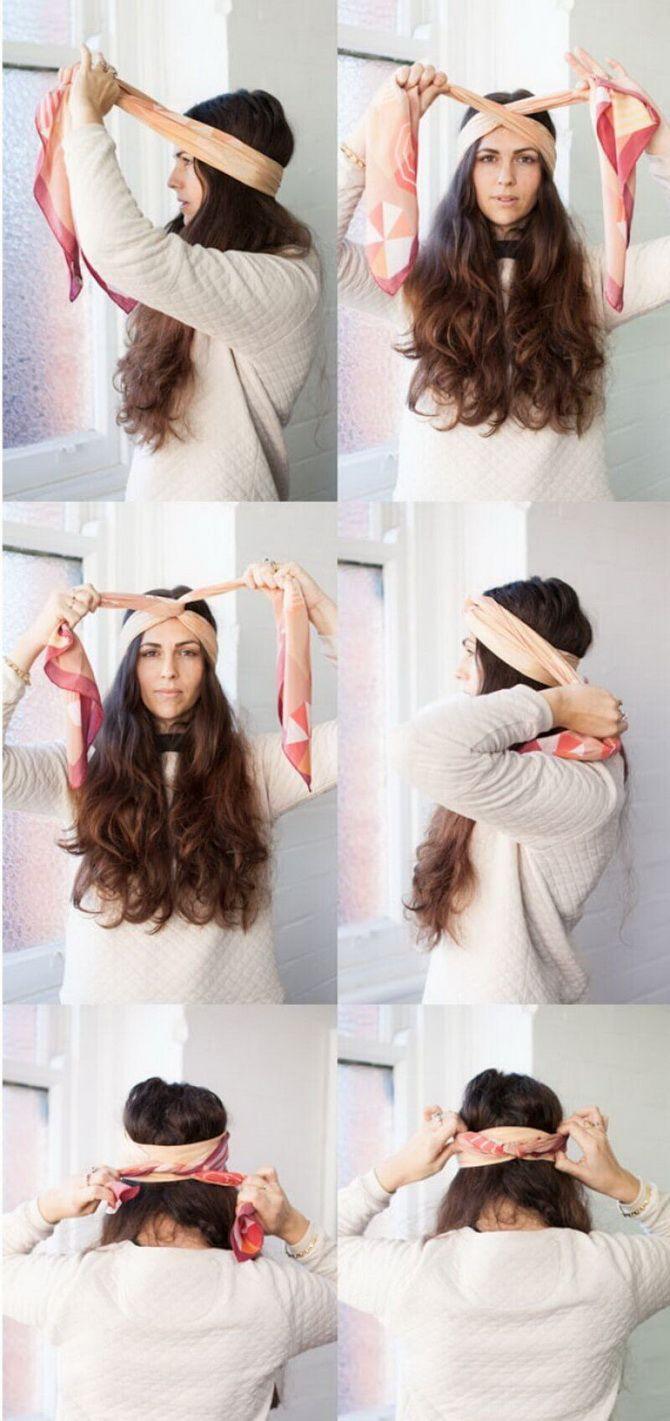 Модный тренд лета 2021: завязываем платок на голове 10