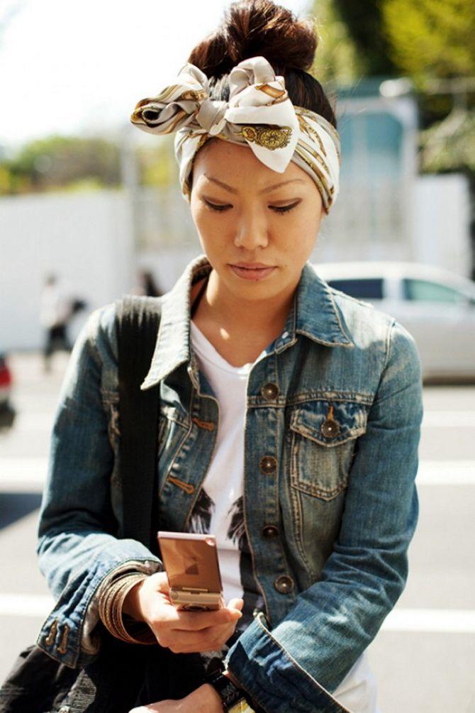 Модный тренд лета 2021: завязываем платок на голове 11