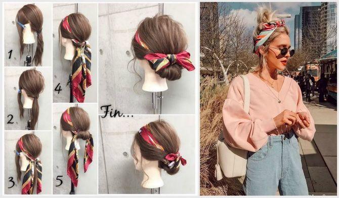 Модный тренд лета 2021: завязываем платок на голове 14