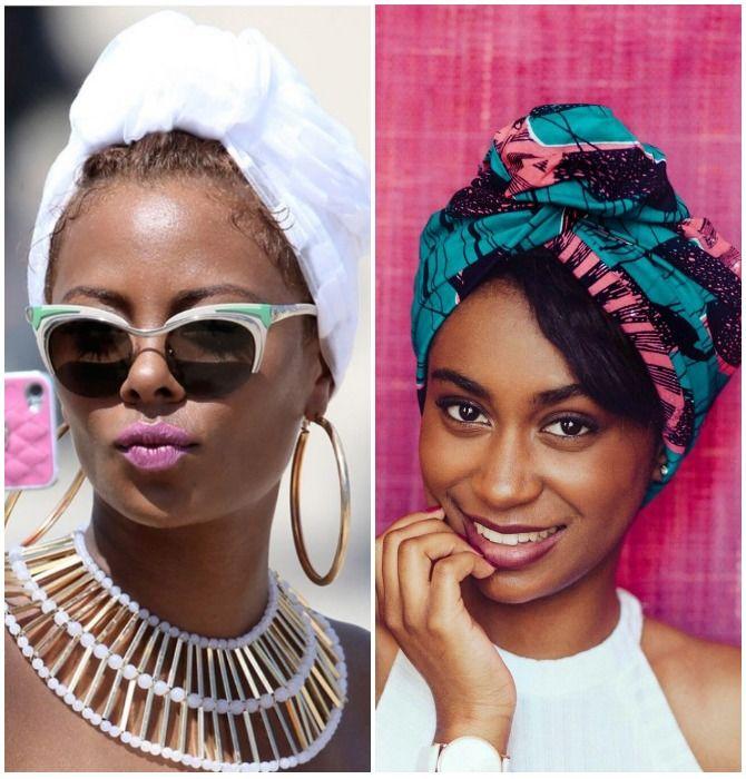 Модный тренд лета 2021: завязываем платок на голове 18