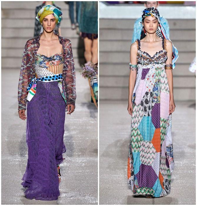 Модный тренд лета 2021: завязываем платок на голове 2