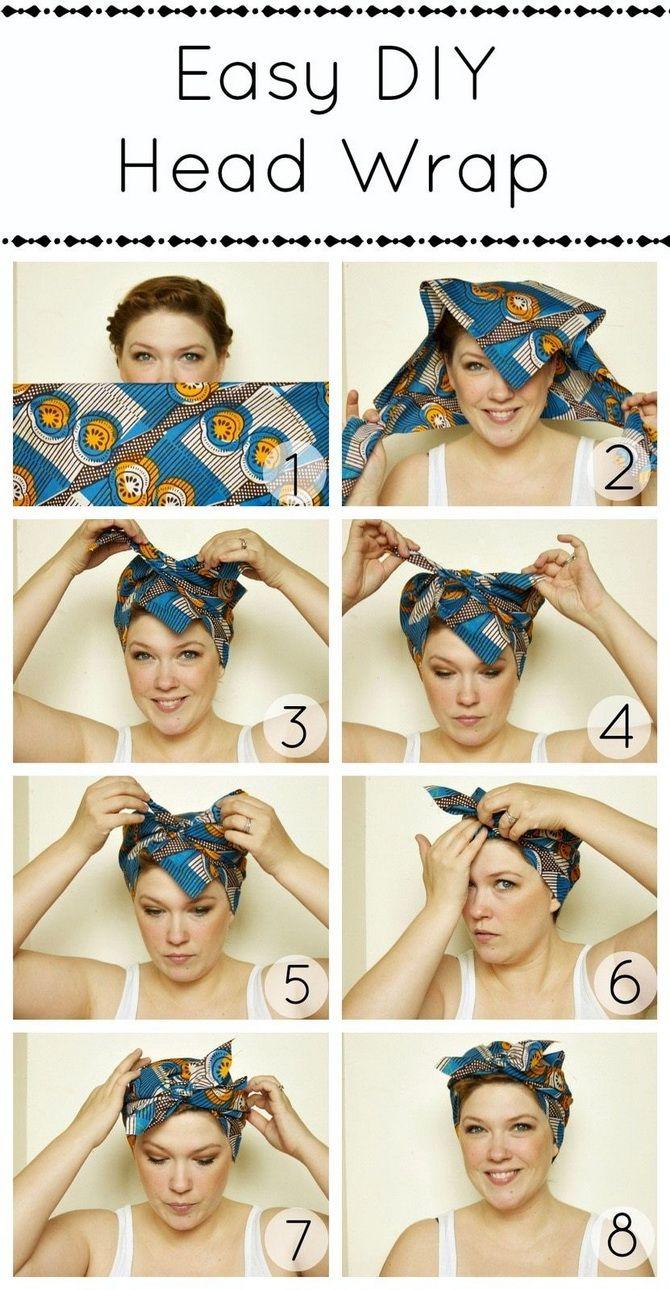 Модный тренд лета 2021: завязываем платок на голове 24