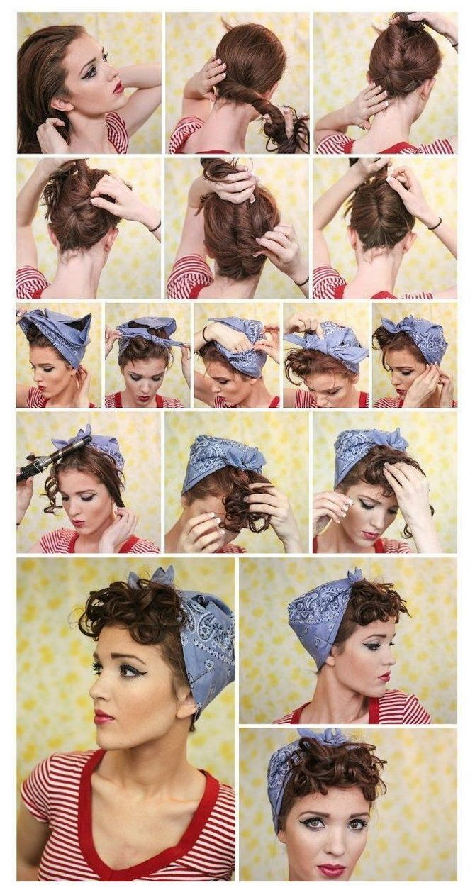 Модный тренд лета 2021: завязываем платок на голове 26