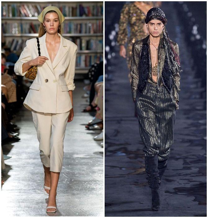 Модный тренд лета 2021: завязываем платок на голове 3