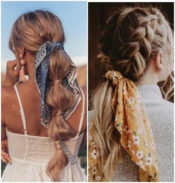 Модный тренд лета 2021: завязываем платок на голове 30