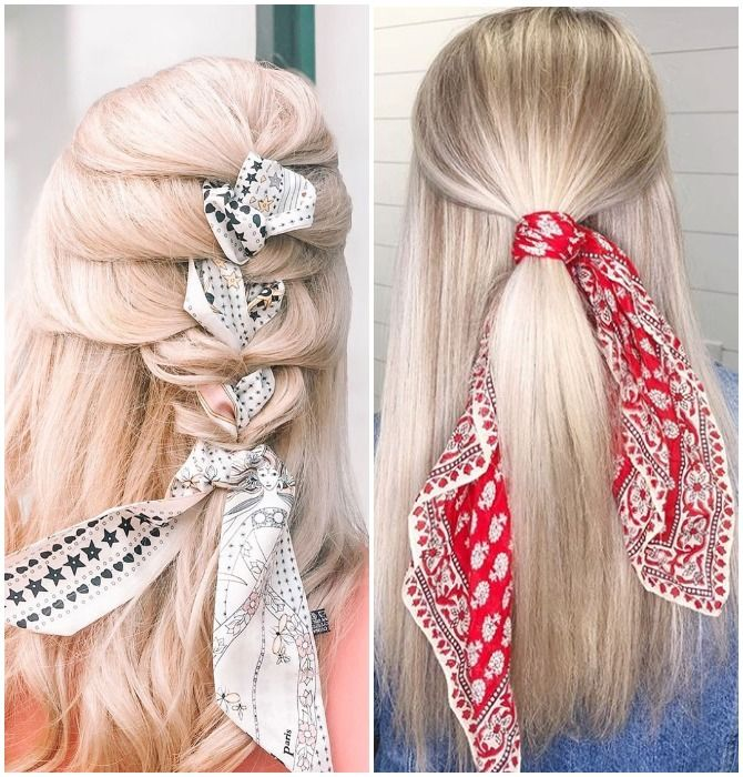 Модный тренд лета 2021: завязываем платок на голове 31