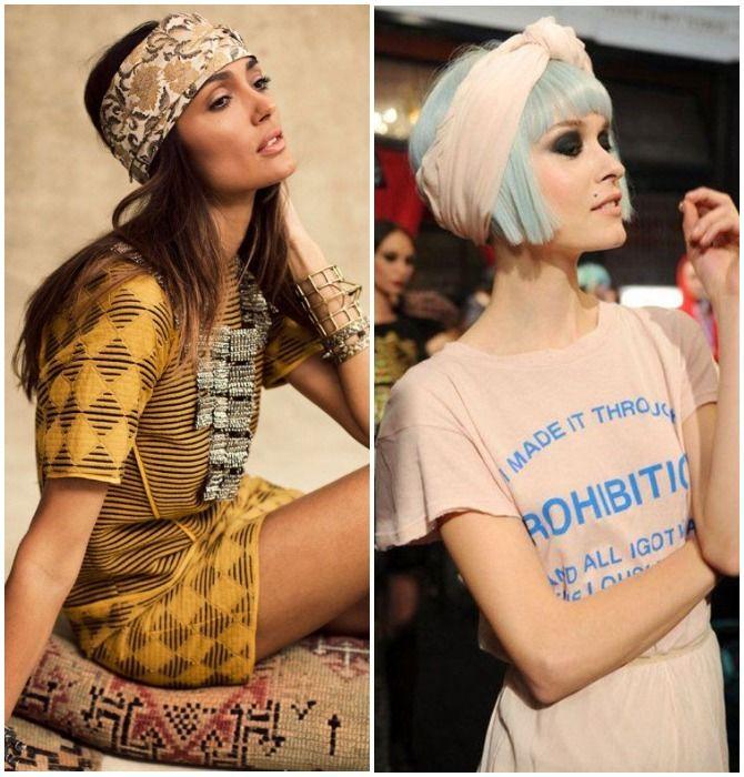 Модный тренд лета 2021: завязываем платок на голове 6