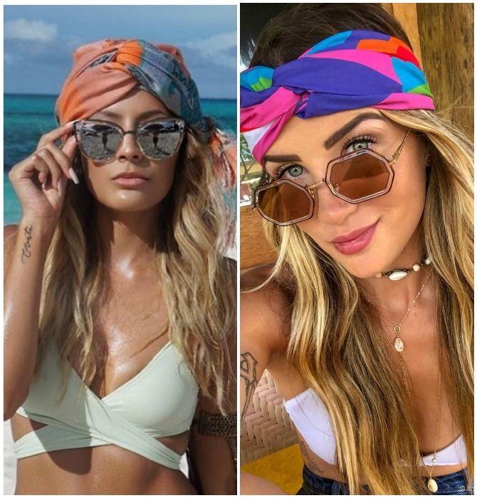 Модный тренд лета 2021: завязываем платок на голове 9