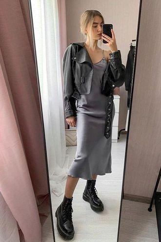 Универсальное платье в бельевом стиле: создаем ультрамодные образы на каждый день 21