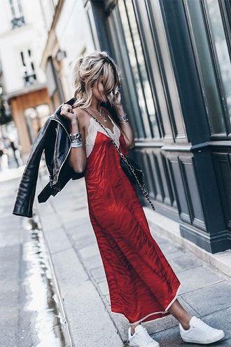 Универсальное платье в бельевом стиле: создаем ультрамодные образы на каждый день 23